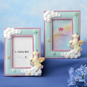 Unicorn Placecard Frame Favors image