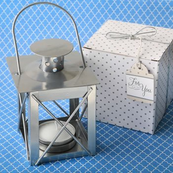 Classic Lantern Tealight Candle Holder Favors image