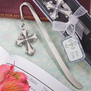 Cross Themed Page Marker with Enamel Inlay image