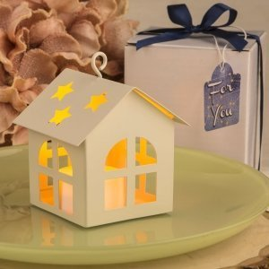 Celestial Home Design Lantern Favor with LED Light image