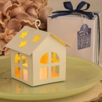 Celestial Home Design Lantern Favor with LED Light