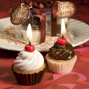 Yummy Cupcake Candle Favors (2 Assorted Styles) image