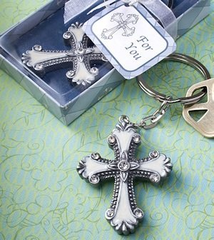 Cross Keychain Party Favors image