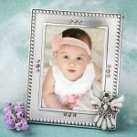 Baptism Angel Photo Frame Favors