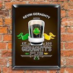 Personalized Traditional Pub Signs (30 Designs)