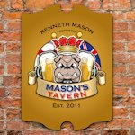 Personalized Vintage Bar Signs (30 Designs)