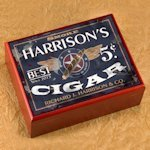 Personalized Cigar Humidors (30 Designs)