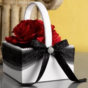 Dreams Come True Wedding Flower Basket image