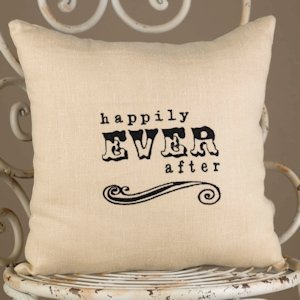 Happily Ever After Throw Pillow image