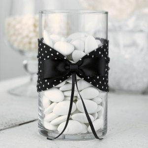 Black & White Polka Dot Wrap Only image