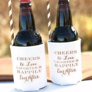 Cheers & Love Can Coolers (Set of 2) image