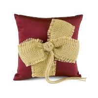 Country Love Ring Pillow