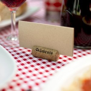 Wine Cork Card Holders (Set of 6) image