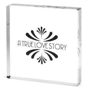 Love Story Cake Top image