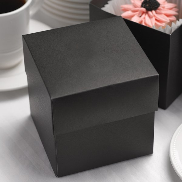 wedding cake boxes personalized black wedding cake boxes personalized option set of 25 22068