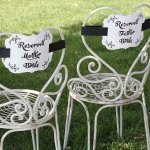 Reserved Chair Decorations - Parents of Bride