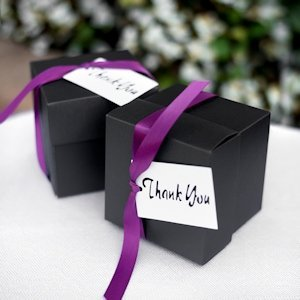 Simple Thank You Favor Tags (Set of 25) image
