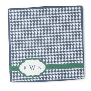 Personalized Houndstooth Hanky image