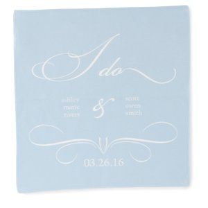 Personalized 'I Do' Hanky image