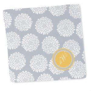 Personalized Flower Hanky image
