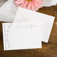 Rustic Vines Thank You Cards (Set of 50)