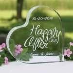 Happily Ever After Wedding Cake Top