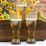 Giant Beer Pilsner Glasses