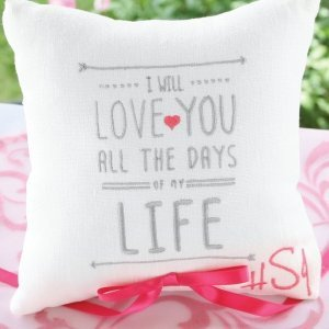 I Will Ring Pillow image
