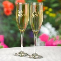Have & Hold Toasting Flutes Set