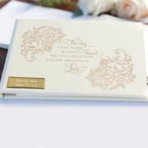 Lace Shimmers Guest Book image