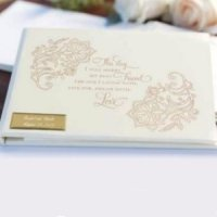 Lace Shimmers Guest Book