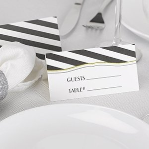 Stripes Galore Place Card (Set of 25) image