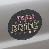Team Bride Repositionable Bachelorette Party Cling