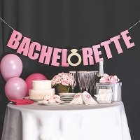 Bachelorette Party Decoration Laser Cut Banner