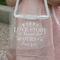 Our Story Acrylic Hanging Sign