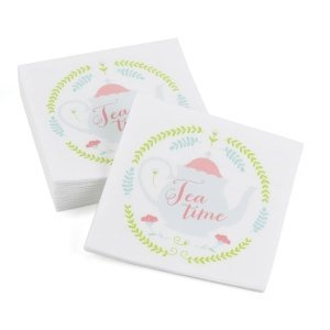 Tea Time Beverage Napkins image