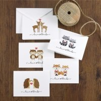 Woodland Love Thank You Cards (Set of 25)
