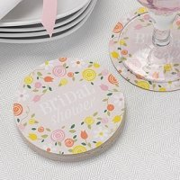 Botanical Bridal Shower Coasters (Set of 25)