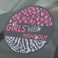 Girls Night Out Repositionable Bachelorette Party Cling