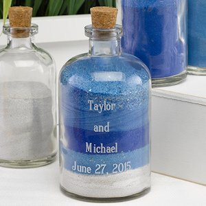 Large Engraved Sand Ceremony Decanter Jar image