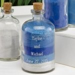 Large Engraved Sand Ceremony Decanter Jar