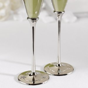 Butterfly Beauty Toasting Flutes image