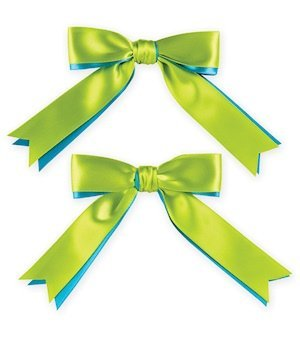 Two Color Custom Accent Bows image
