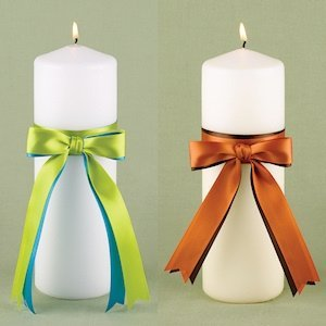 Two Color Custom Unity Candle image