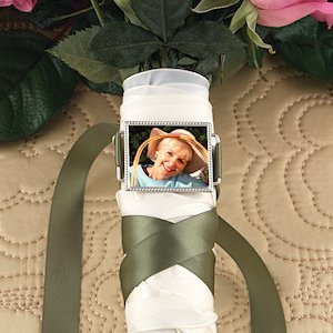 Silver Bouquet Photo Buckle image