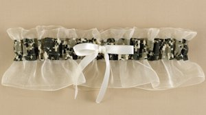 Well Suited Camouflage Garter image