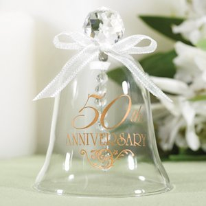 50th Anniversary Glass Bell image