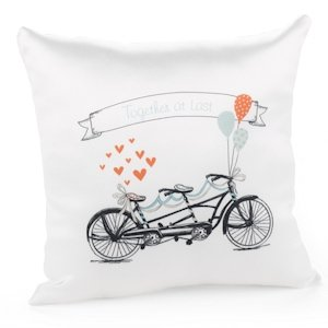 Tandem Bike Pillow image