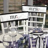 Chair Sashes & Banners