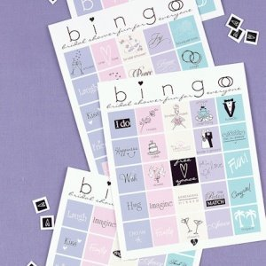 Bridal Shower Bingo Game image